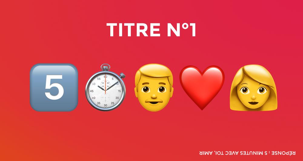 Le Grand Quizz Des Chansons En Emojis Radio One Fm
