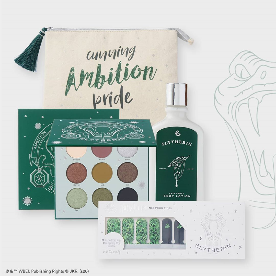 Collection-maquillage-Harry-Potter-Serpentard