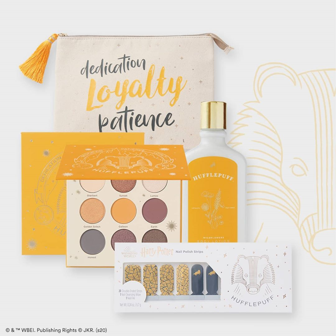 Collection-maquillage-Harry-Potter-Poufsouffle